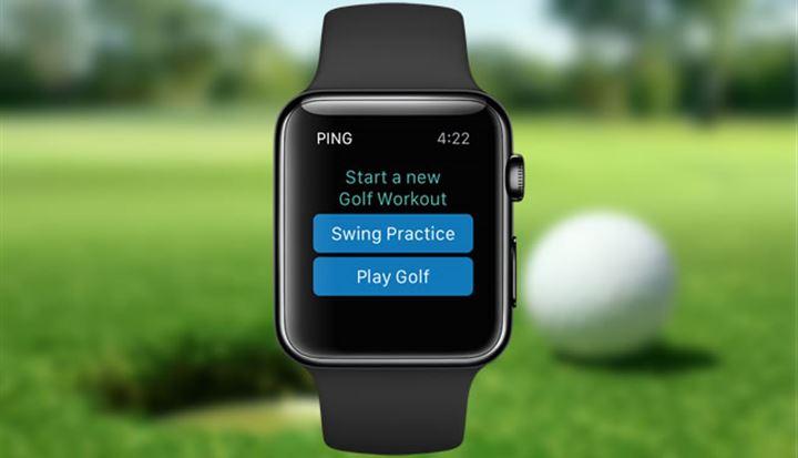 ゴルフワークアウト機能を使ってフィットネス活動、スコアデータの管理やスイングの向上が可能になります。