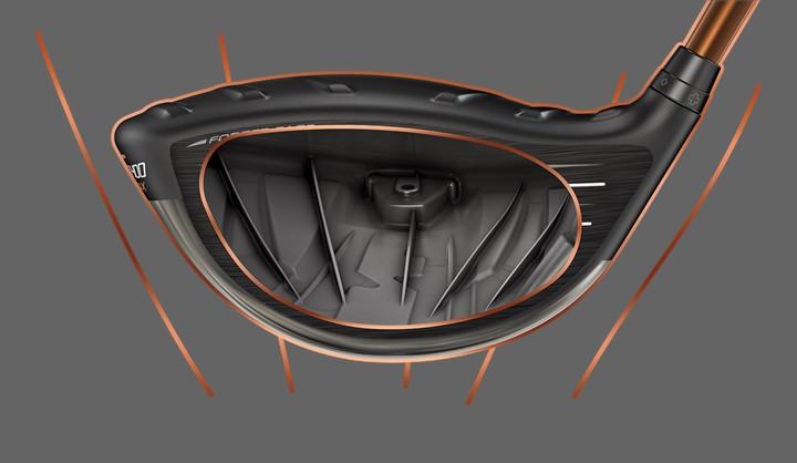 Son Satisfaisant, G400 Max Driver internal ribs illustration
