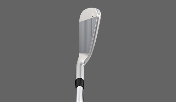 Clean Look, address view of G400 iron